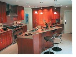 angular kitchen redesign maximizes space function kitchen bath