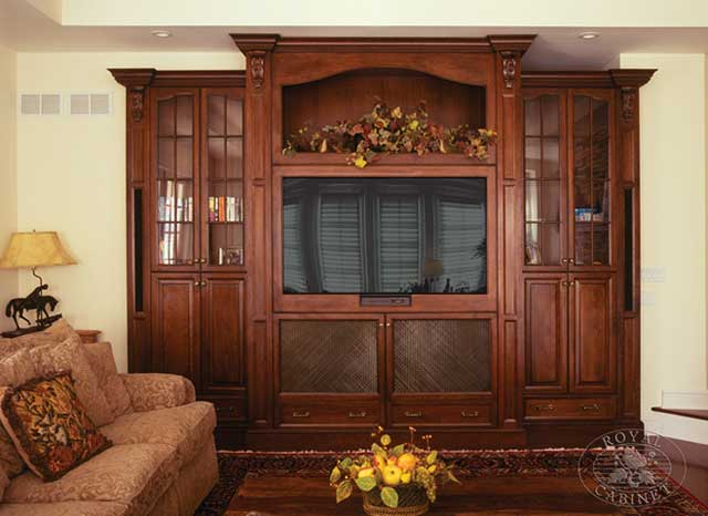 Custom Cabinetry | Media Rooms | Home Entertainment Center